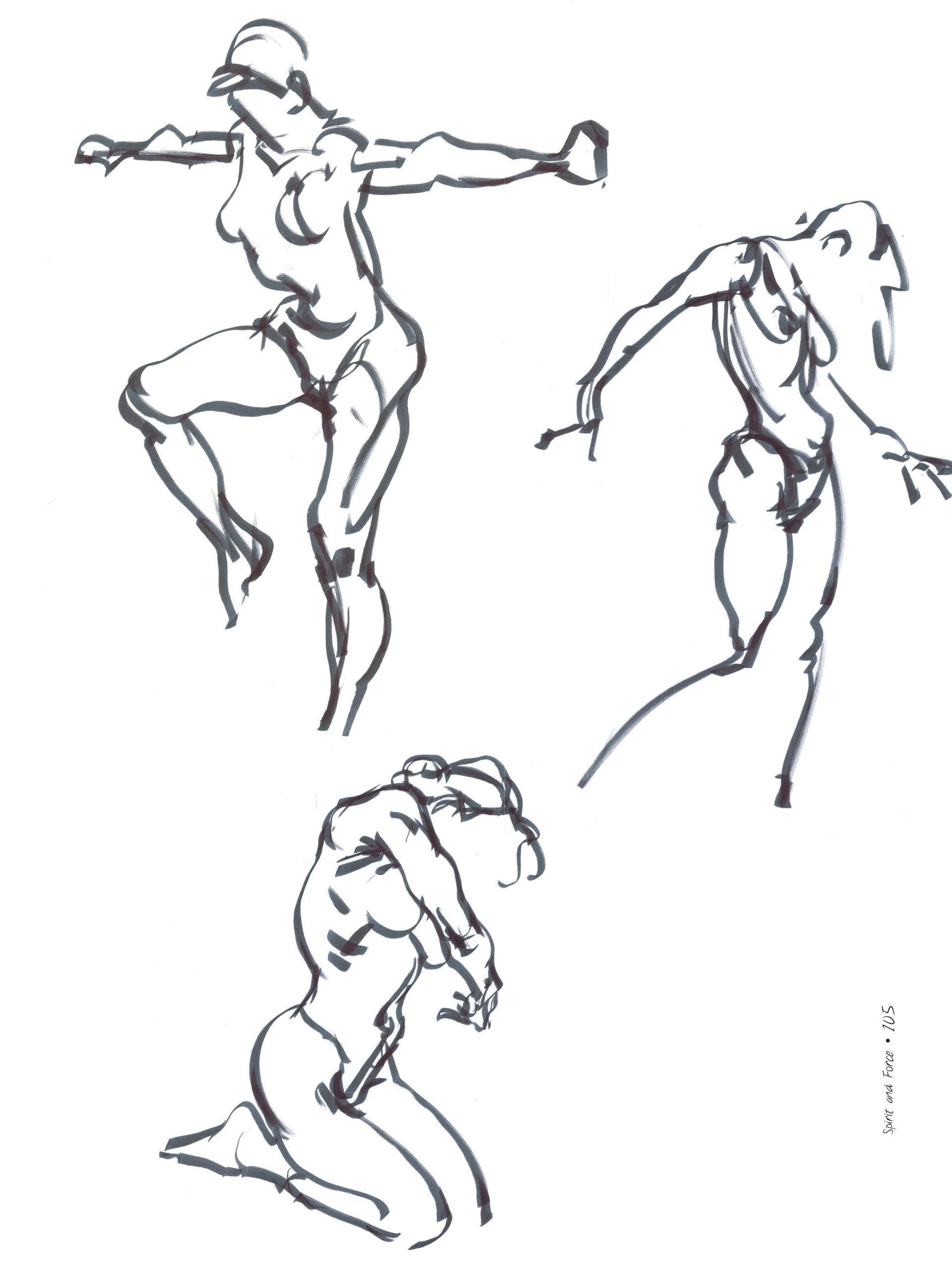 1922x2560 Spirit And Force In Figure Drawing Karl Gnass, Michael Zakian