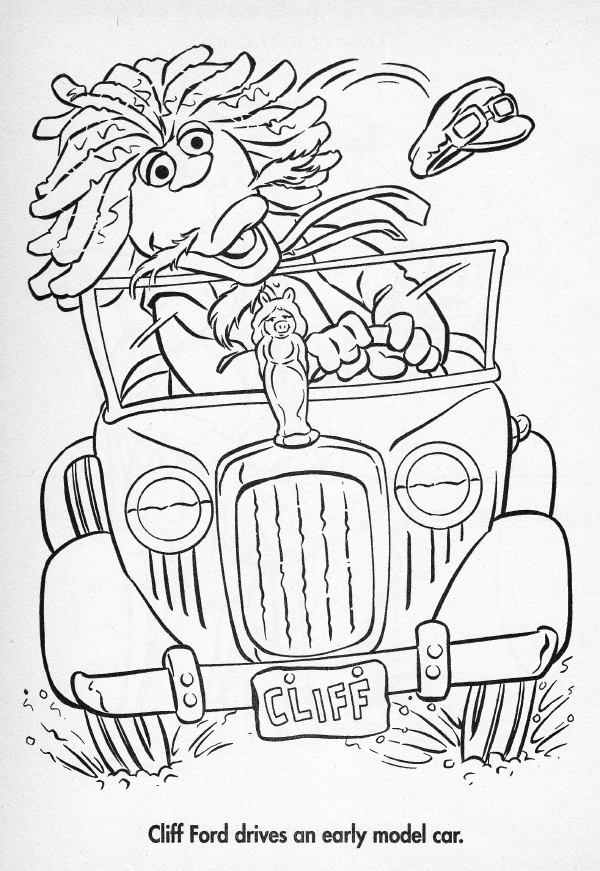 X Ford Coloring Pages