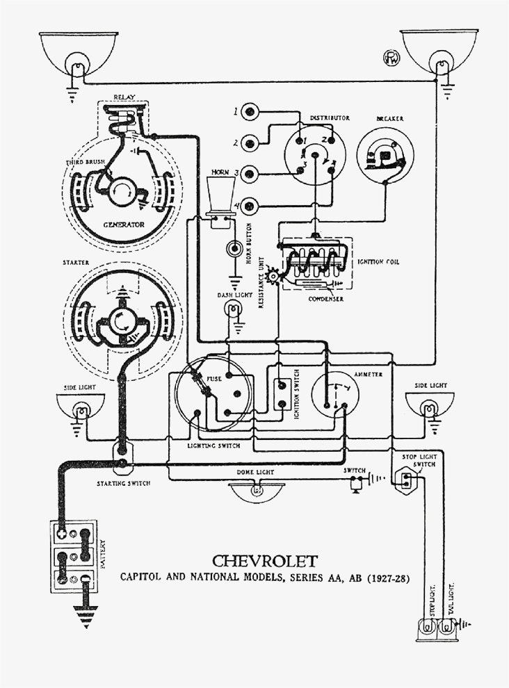 1930 Model A Ford Starter Wiring Diagram Get Free Image About Wiring