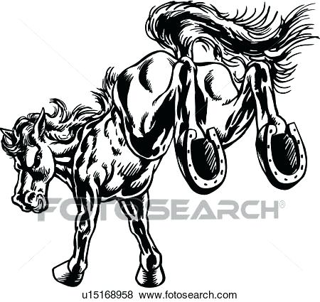 450x425 Mustang Clipart Clip Art Mustang Kick Search Illustration Posters