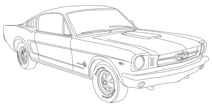 900x461 Mustang Under Construction By Guus3