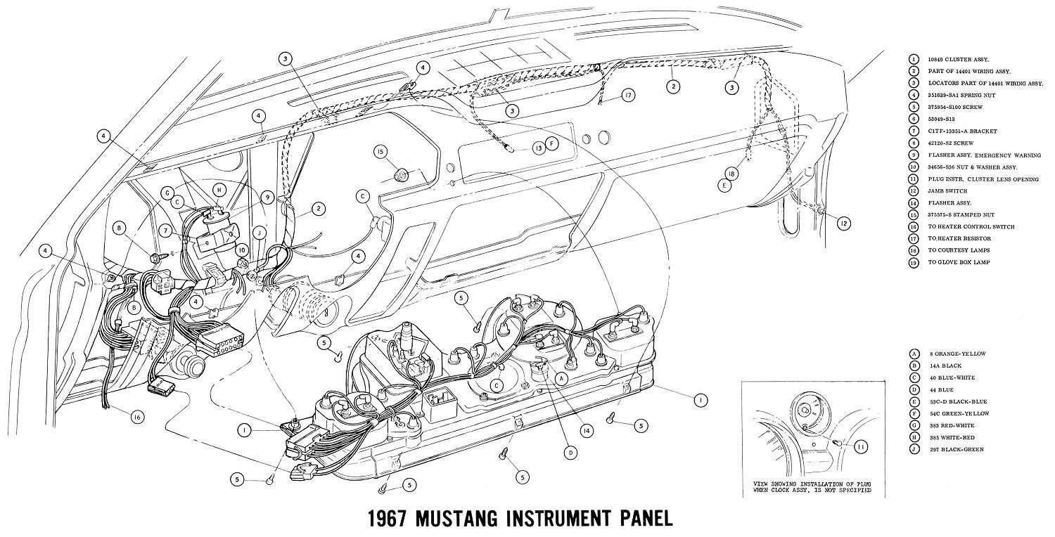 Ford Mustang Gt Drawing At Free For Personal Use 1985 Ignition Switch Wiring Diagram 1500x764 1967 And Vacuum Diagrams