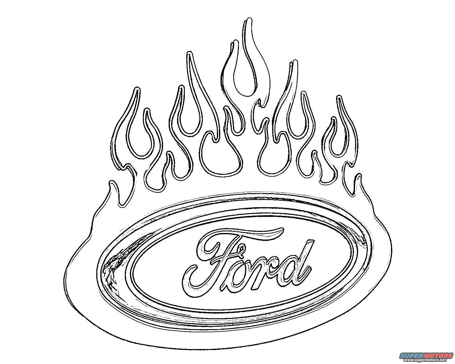 1465x1170 Fort Coloring Page Ford Mustang Pages