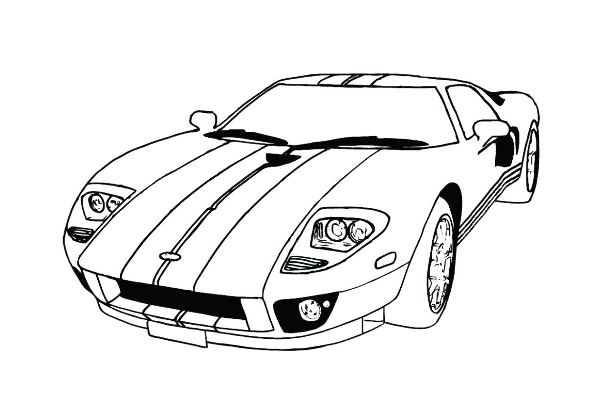 1211x856 Coloring Ford Gt Coloring Pages