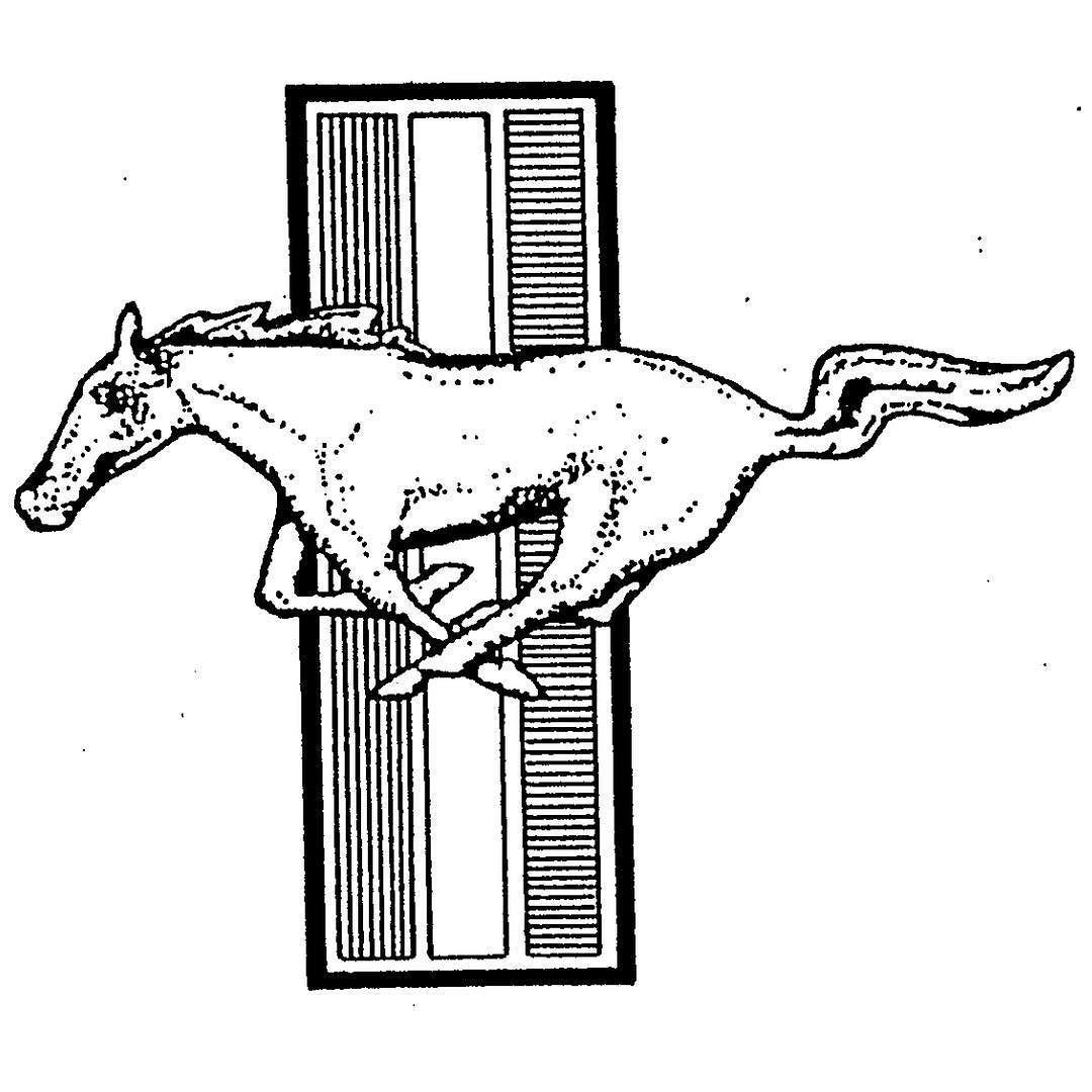 1080x1080 Ford Mustang Emblem Registered As Trademark On This Day In 1992