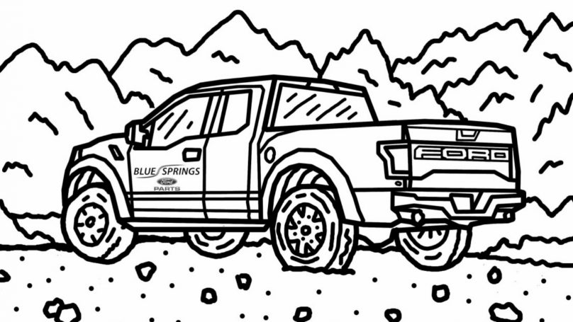 808x455 Ford Posts Free Online Raptor Colouring Book Wheels.ca