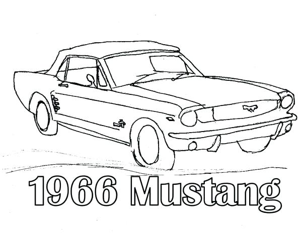 600x464 Here Are Mustang Coloring Pages Pictures Drawing Mustang Car