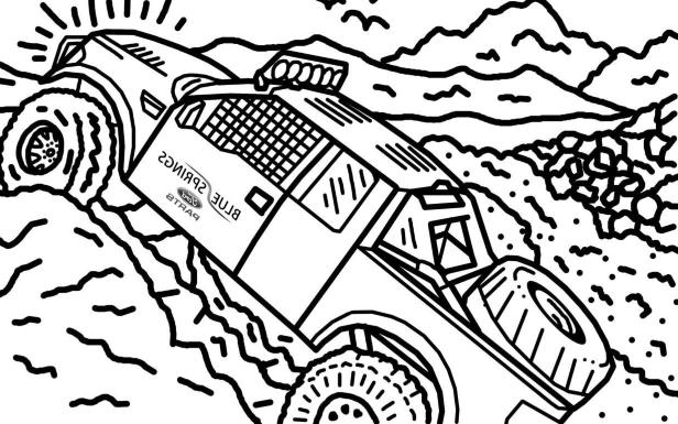 616x385 News Ford Raptor Stars In Its Own Colouring Book