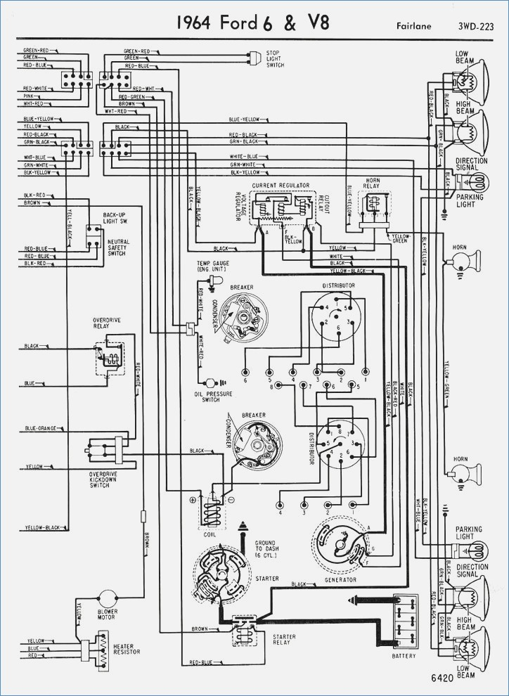 1964 ford f 250 truck wiring diagram custom wiring diagram u2022 rh littlewaves co