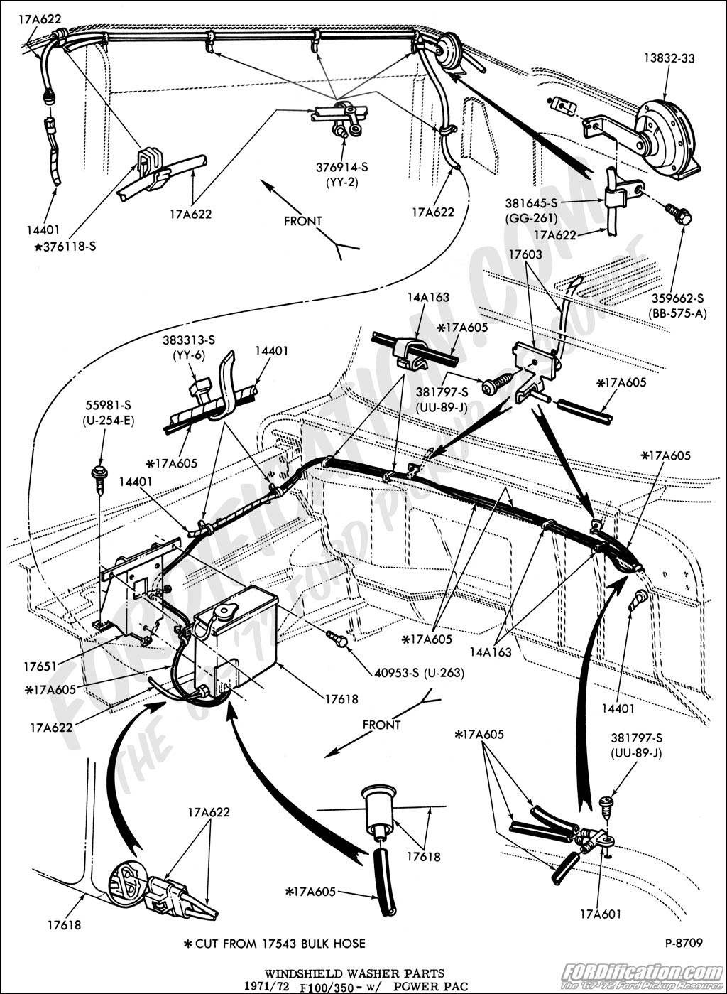 Ford Truck Drawing At Free For Personal Use 78 Bronco Horn Wiring Diagram 1024x1399 Technical Drawings And Schematics