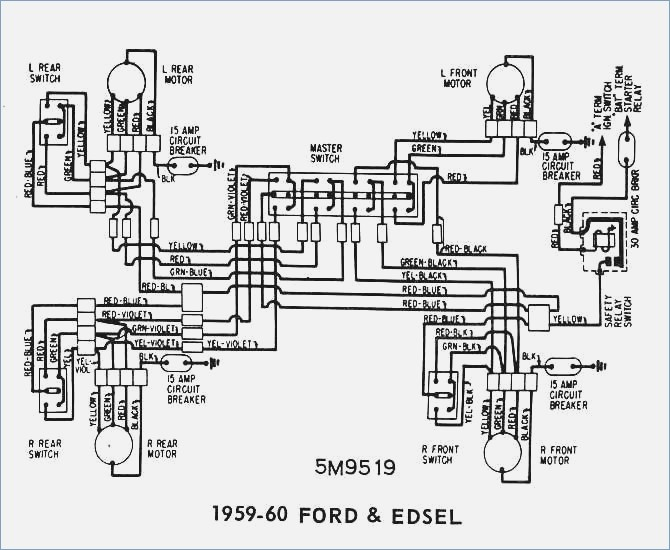 Wiring Diagram 59 Ford Schematic Diagram Schematic Wiring Diagram