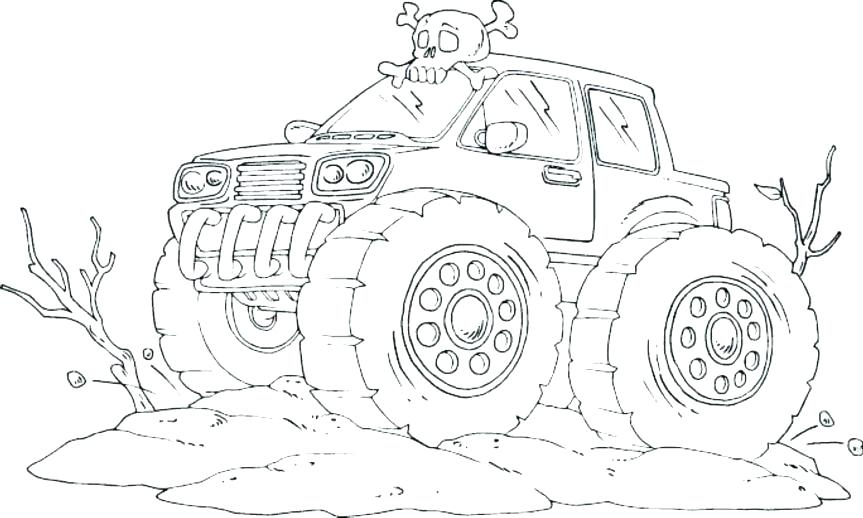 863x518 Tonka Truck Coloring Pages Old Truck Coloring Pages Monster Truck