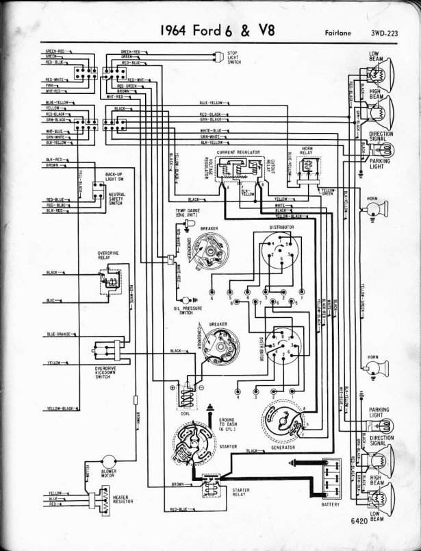 1972 Ford F100 Wiring Schematic
