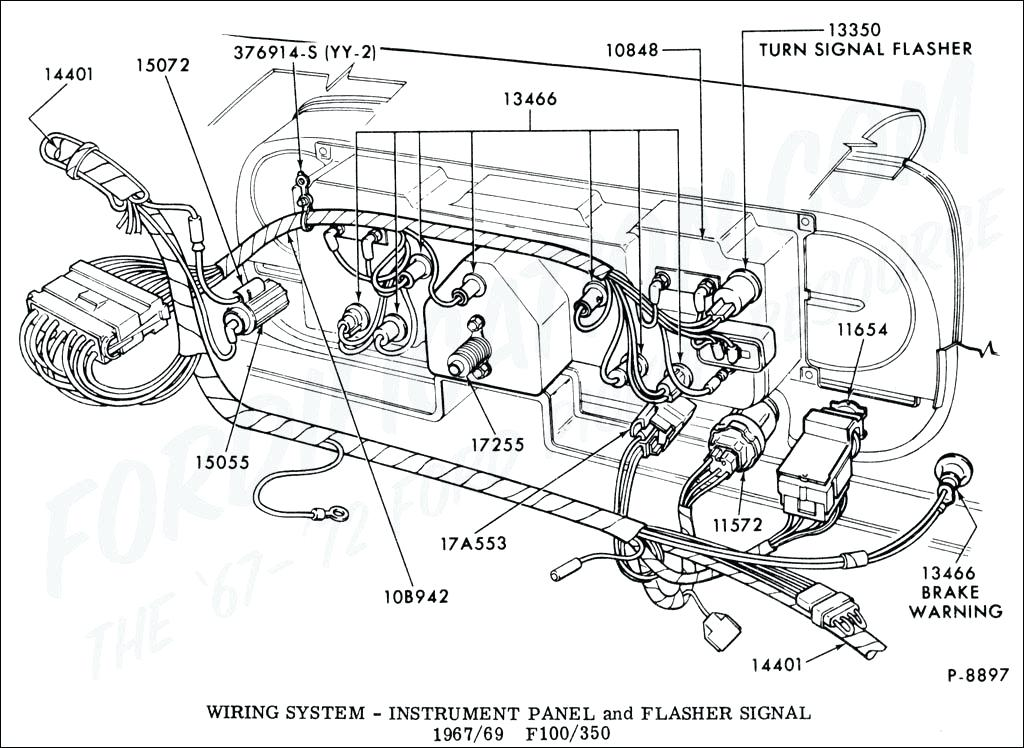 1024x748 1977 ford truck wiring diagrams technical drawings and schematics