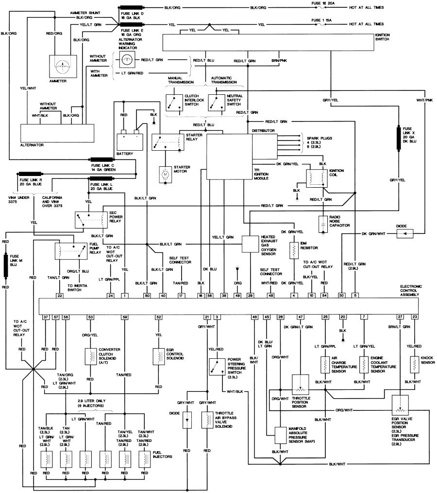 900x1014 86 Ford Ranger Wiring Diagram Wiring Diagram