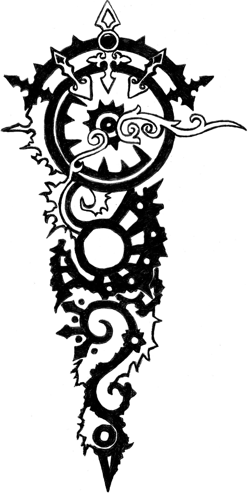 Forearm tattoo drawing at free for for Where can i get free tattoos