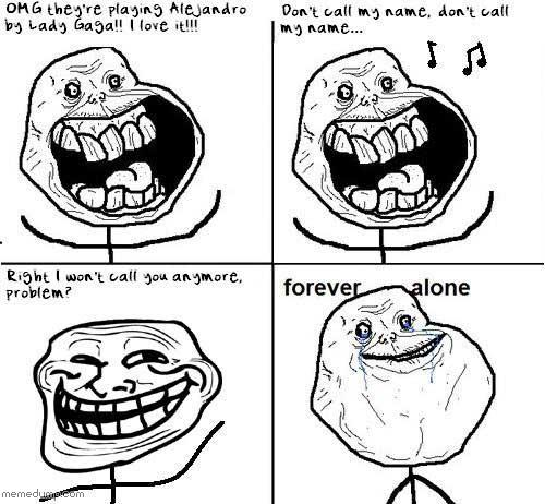 500x462 Forever Alone Guy Web Meme Picture