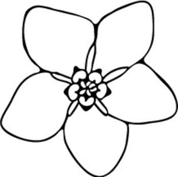 350x347 This File Includes Forget Me Not Flower Clipart, Rose Clipart,