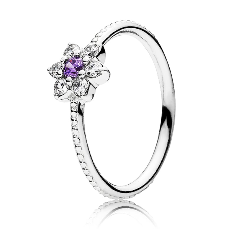 800x800 Pandora Forget Me Not Ring 190990acz From Gift And Wrap Uk