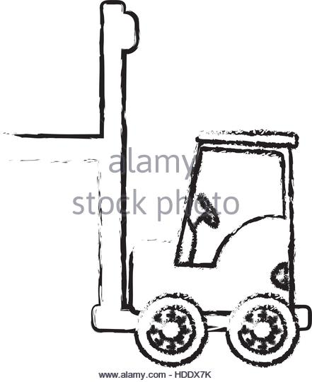 441x540 Forklift Driver Stock Vector Images