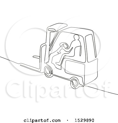 450x470 Royalty Free (Rf) Forklift Clipart, Illustrations, Vector Graphics
