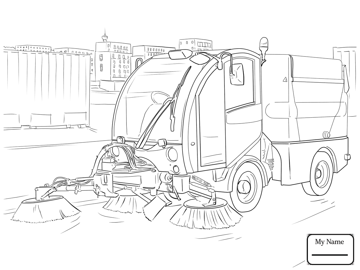 1224x918 Coloring Pages Trucks Transport Forklift