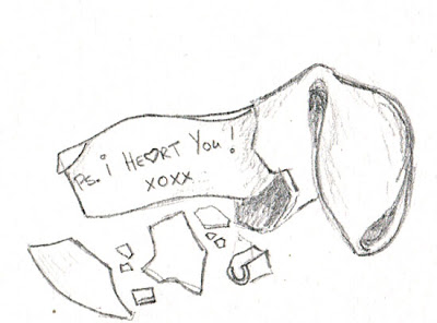 Fortune Cookie Drawing