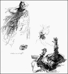 236x257 Joseph Clement Coll 1881 1921 One Of My Favorite Pen And Ink