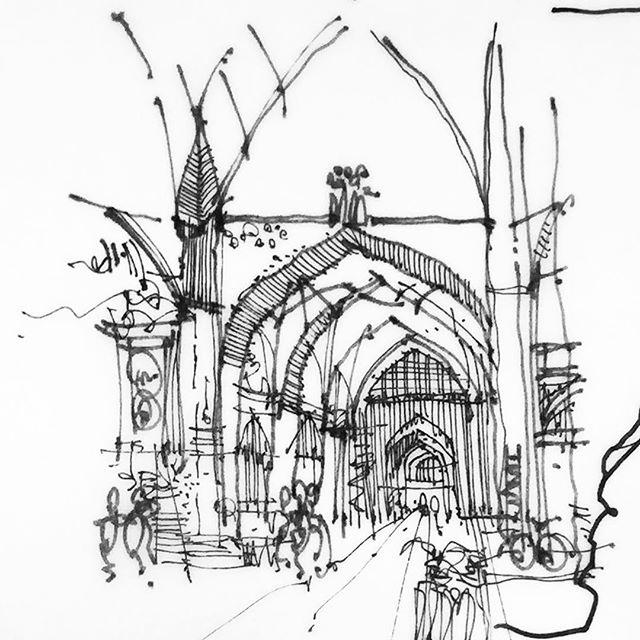 640x640 Quick Sketch Of A Bazaar