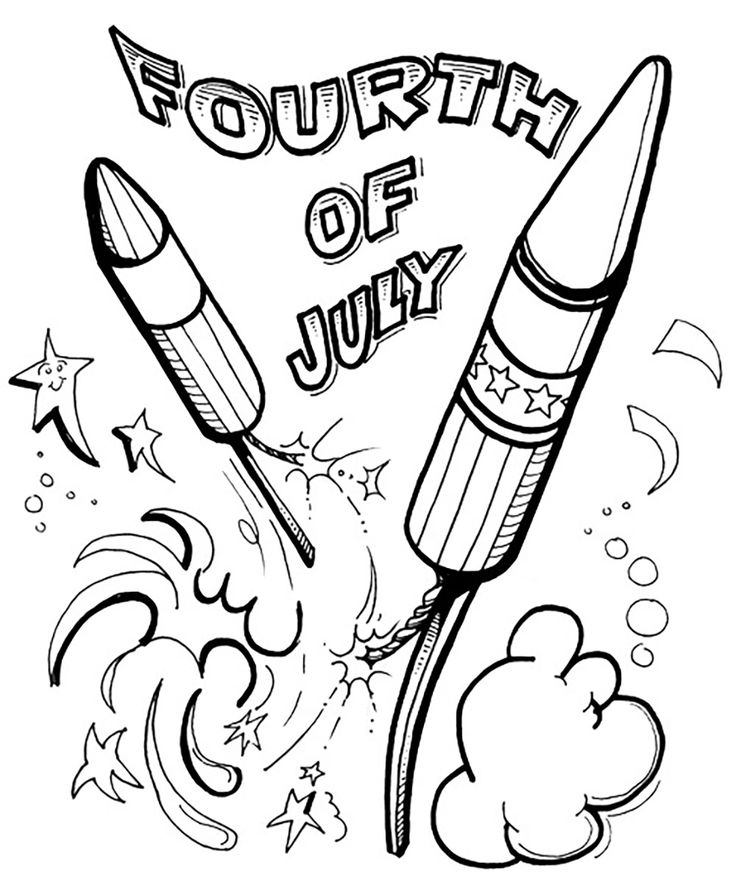 Fourth Of July Drawing