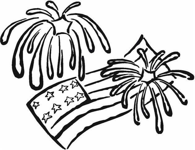 630x486 Happy 4th Of July Coloring Pages 2017 Happy Independence Day