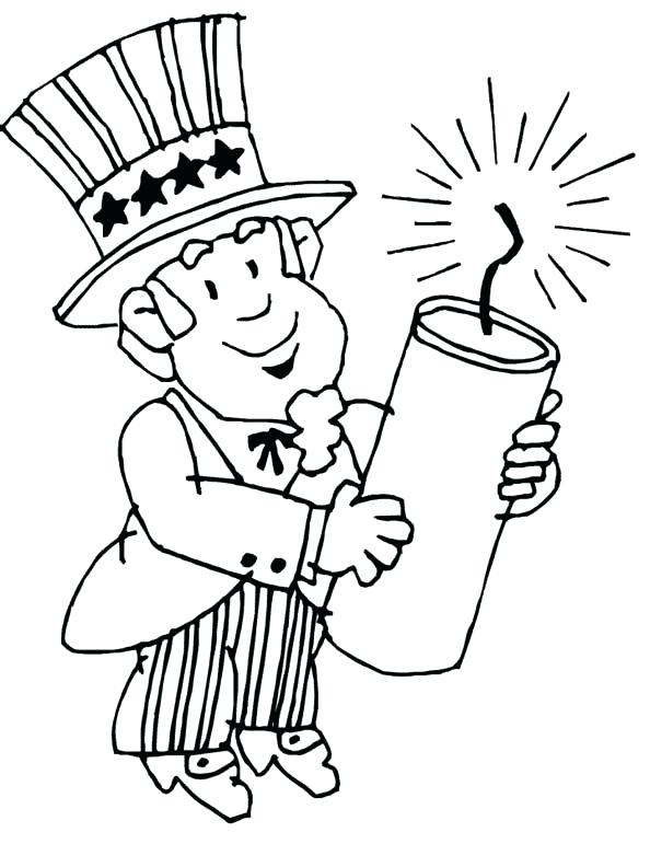 594x792 4th Of July Coloring Pages For Toddlers Of Heart Flag Coloring
