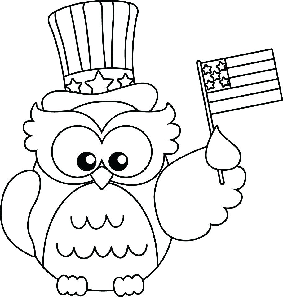 913x960 Printable 4th Of July Printable Coloring Sheets Learn To Draw