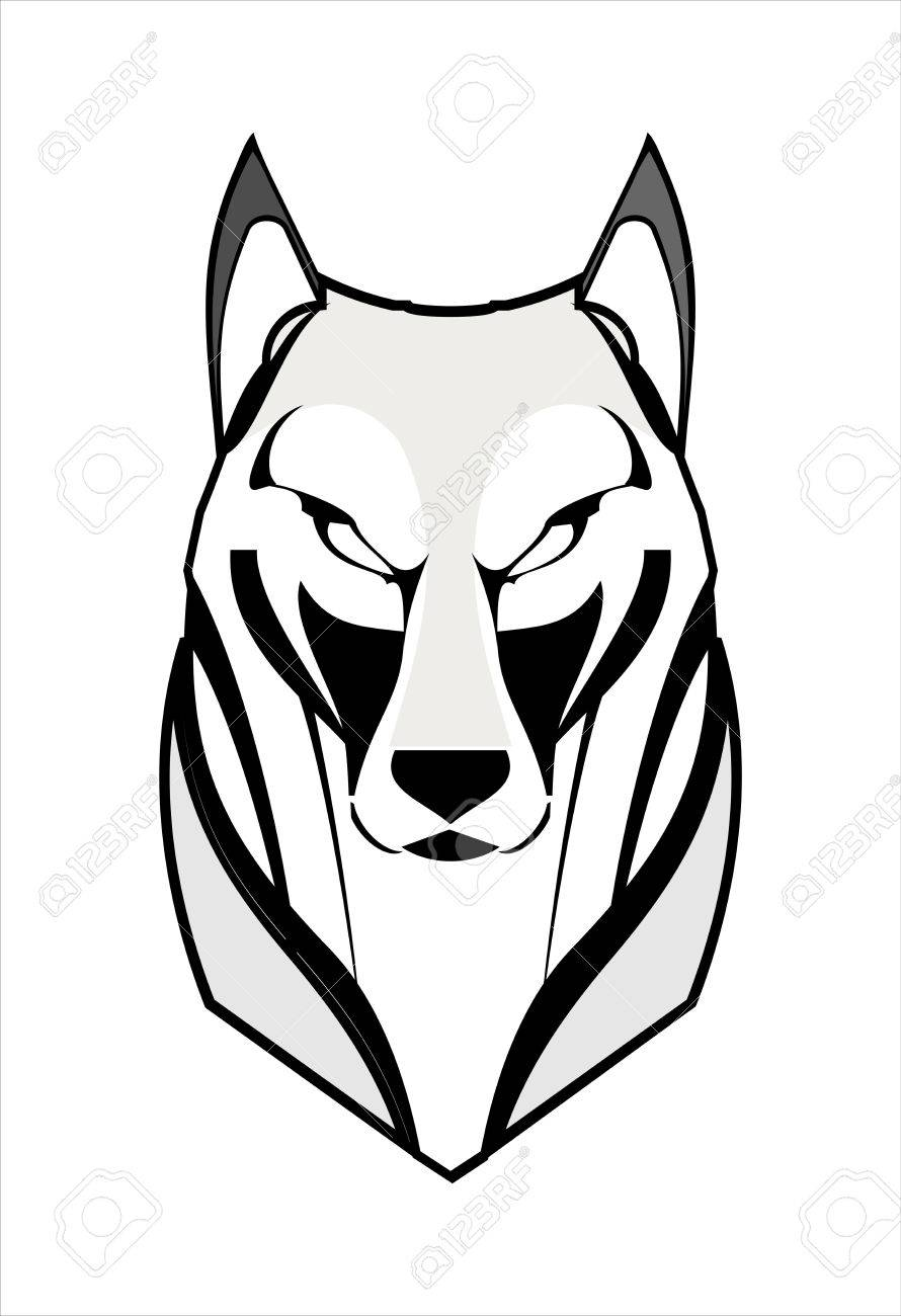 890x1300 Wolf, Coyote, Husky, Fox Royalty Free Cliparts, Vectors, And Stock