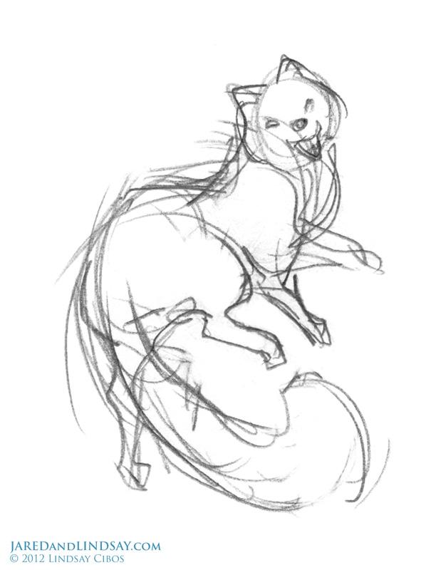 598x800 How To Draw An Arctic Fox Last Of The Polar Bears