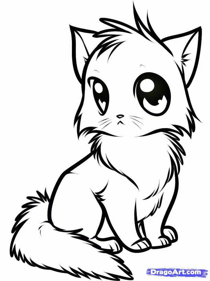 736x984 The Best Cute Animal Drawings Ideas On Draw Cute