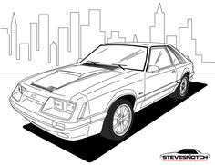 236x182 Chevelle Drawing