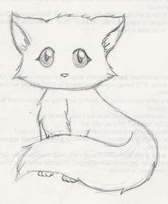 Fox Cartoon Drawing