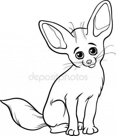 384x450 Fennec Fox Cartoon Stock Vectors, Royalty Free Fennec Fox Cartoon