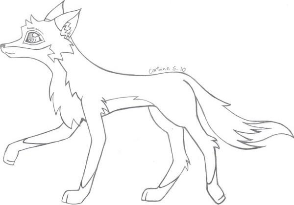 600x420 Cartoon Fox