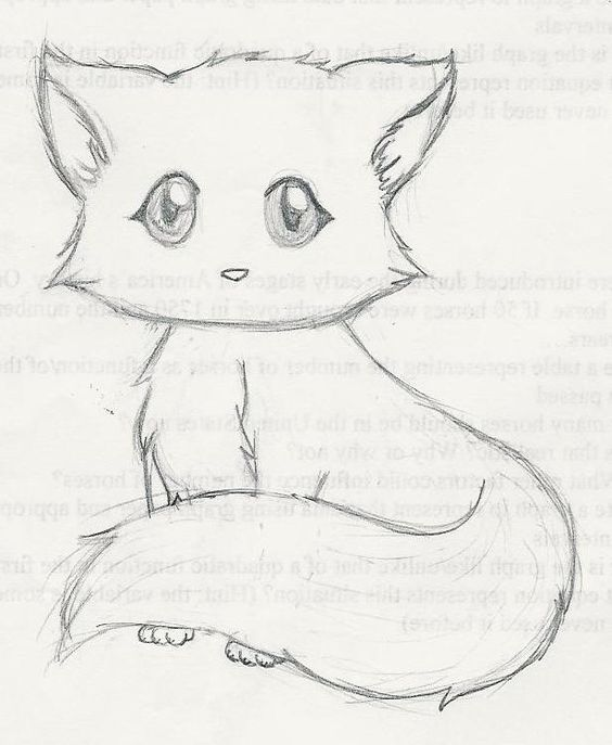 564x687 Cute Kitten Drawings Drawing Drawings