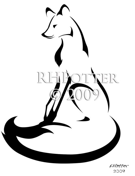 535x700 Drawing Simple Fox Line Drawing Also Simple Cute Fox Drawing As