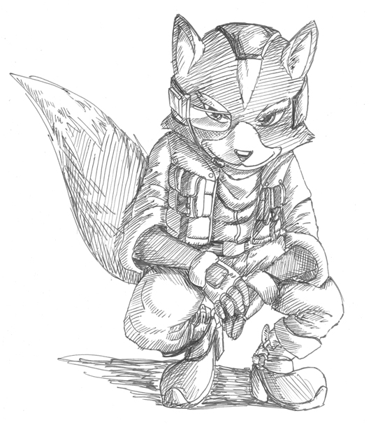 531x608 Starwing Fox Mc Clood By Mot Karma
