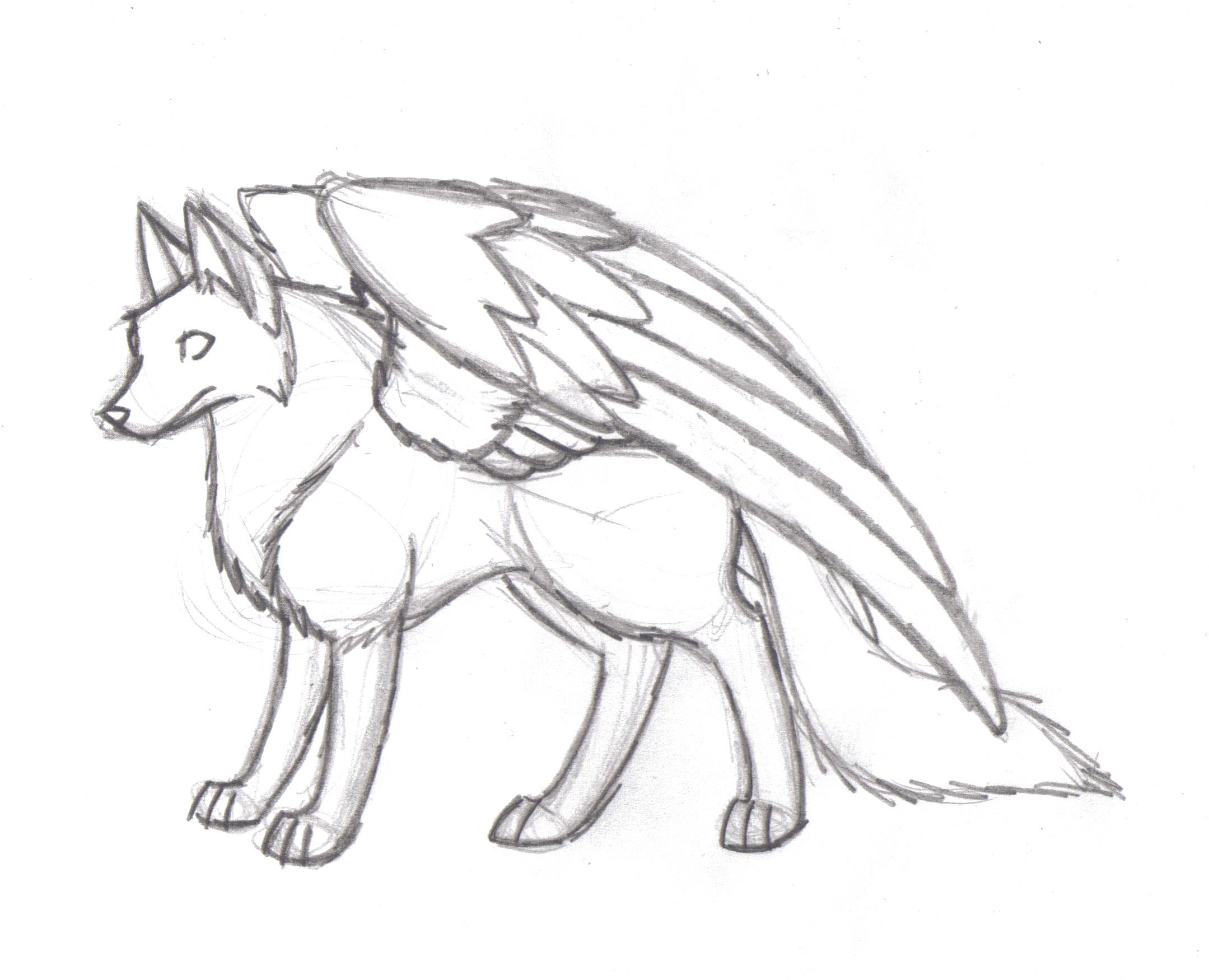 2159x1750 Winged Fox Wip By Nitaradahmpiel