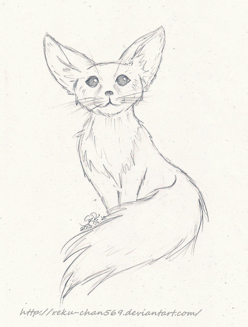 1024x1348 Fennec Fox By Reku Chan569