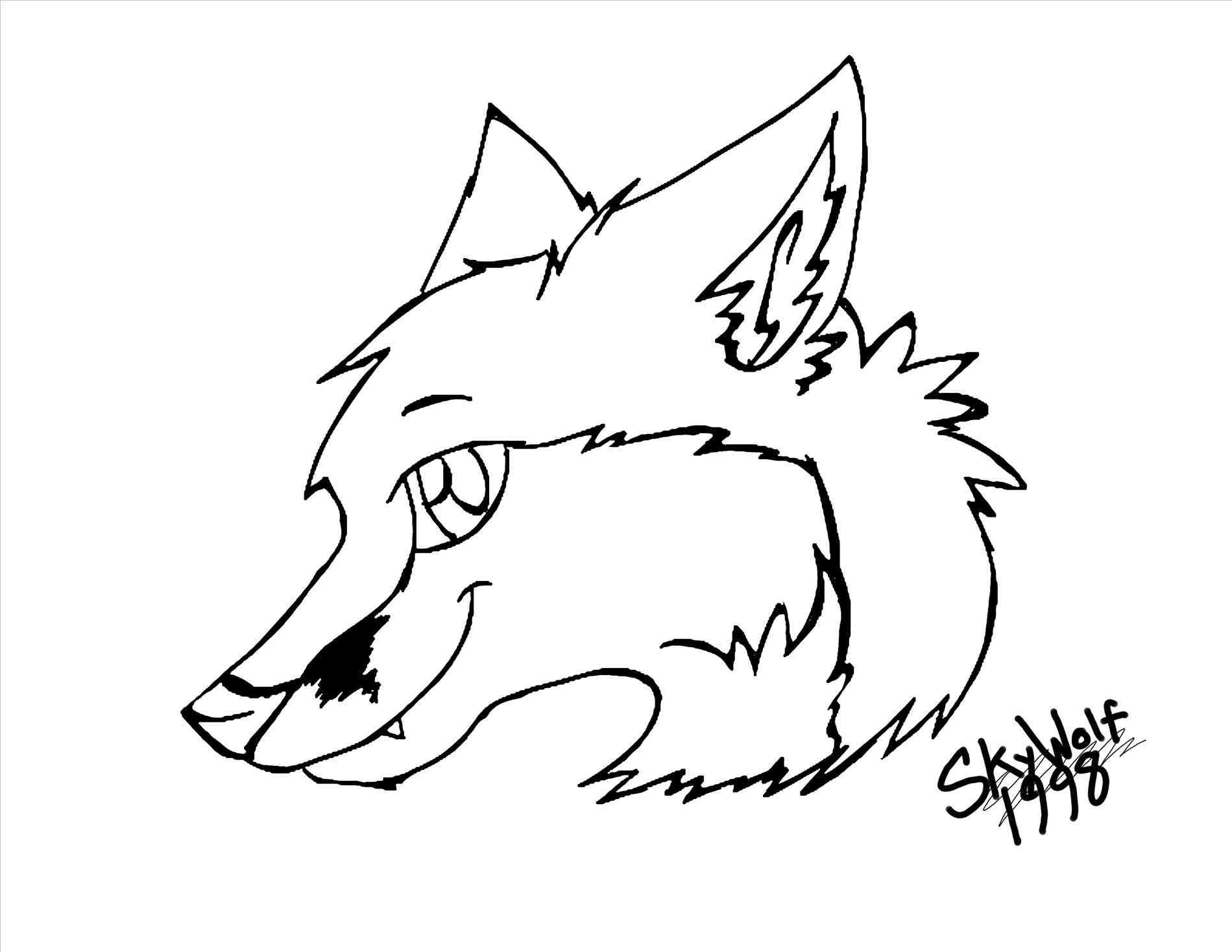 1899x1468 Pin Drawn Fox Simple 13. Learn How To Draw A Red Fox Forest