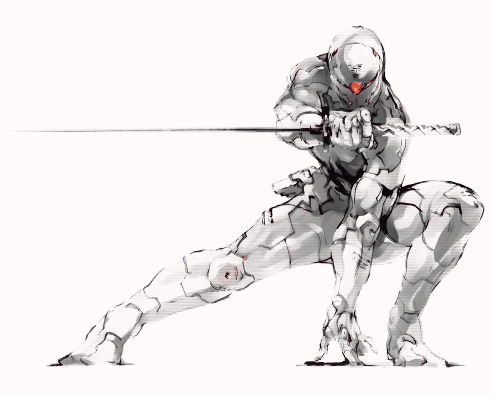 1683x1347 Metal Gear Solid Gray Fox 1683x1347 Wallpaper High Quality