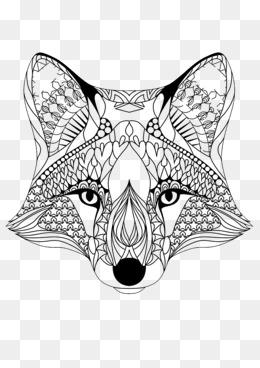 260x368 Fox Head, Flat Fox Avatar, Animal Heads, Vector Fox Png And Vector