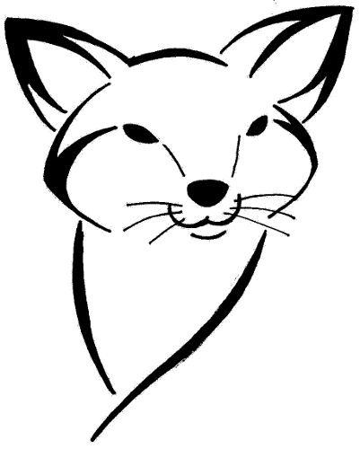 Foxes Drawing