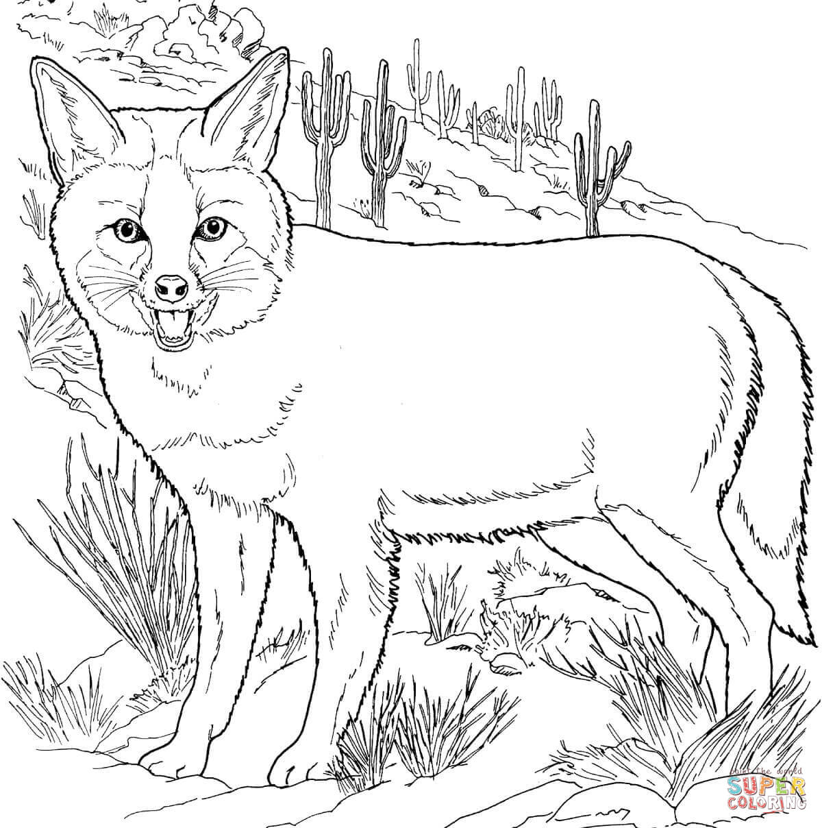 Foxes Drawing at GetDrawings.com | Free for personal use Foxes ...